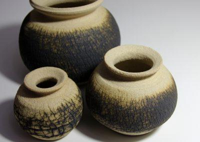 Tree Bark Series Jar Pot Group