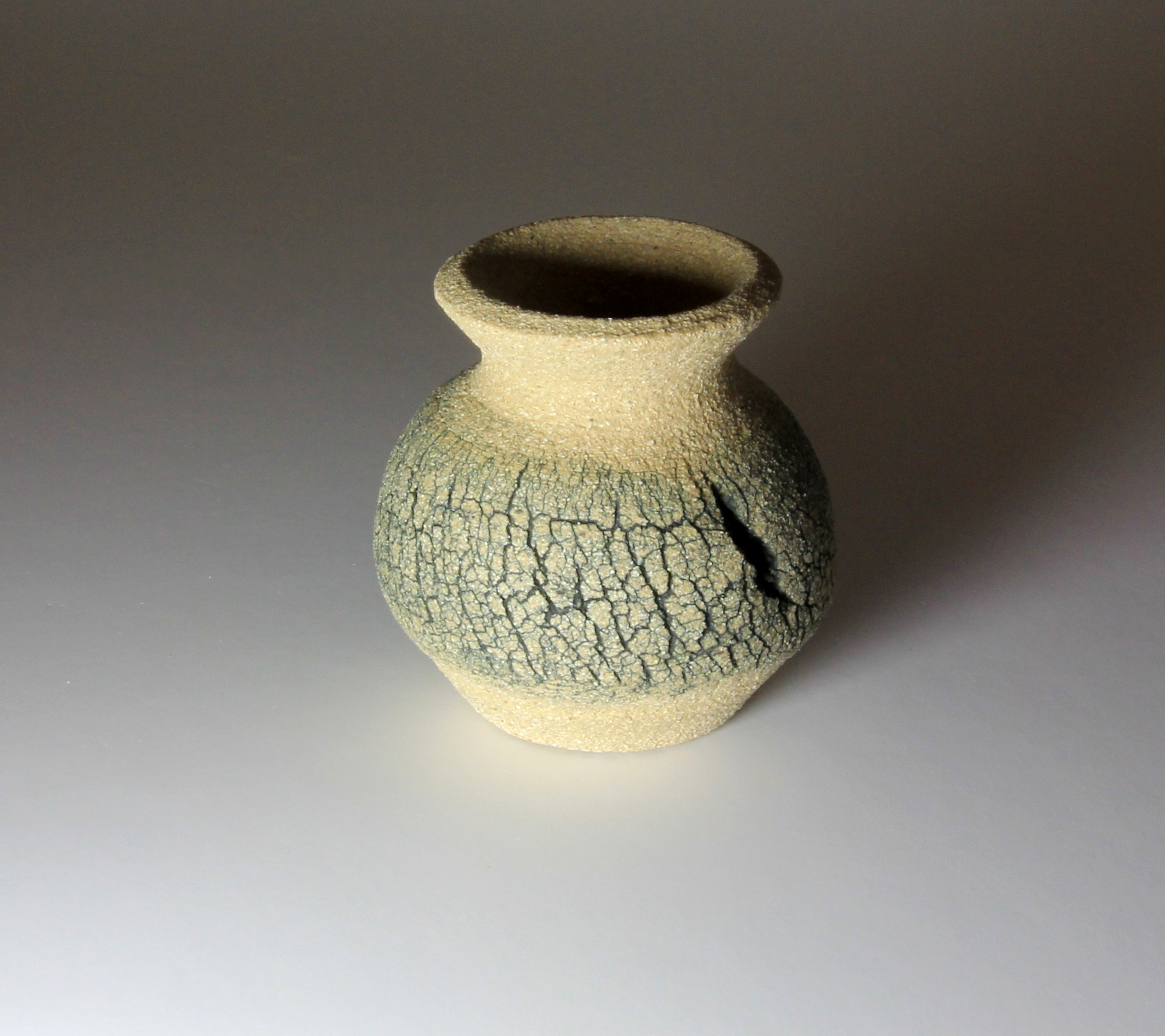 Emmeline Butler Limestone Pavement Small Jar Pot