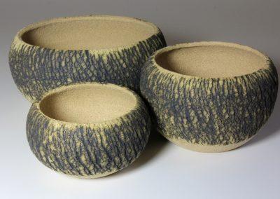 Tree Bark Series Bowl Group