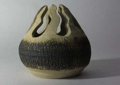 Limestone Pavement Series I Carved Pot