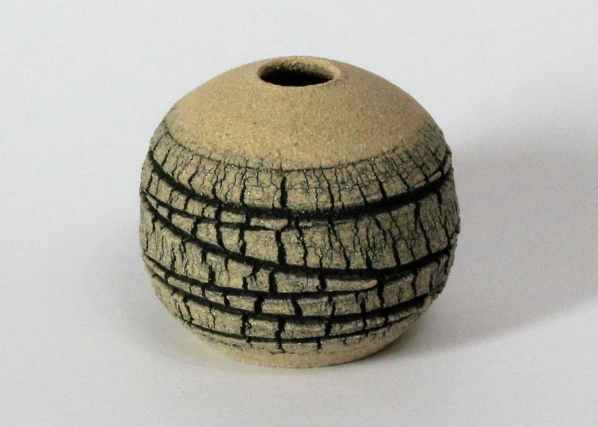 Emmeline Butler Veined Limestone Orb 7